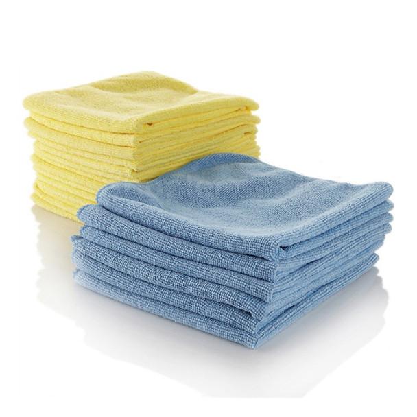 Microfiber Cloth Blue [Pack of 10] - SHOPLER.CO.UK