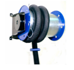 Exhaust Gas Hose Reel
