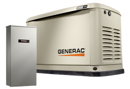 Guardian 24kW Home Backup Generator with 200 amp SER Transfer Switch - Model #7210