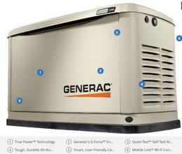 Guardian 14kW Home Backup Generator WiFi-Enabled - Model #7223
