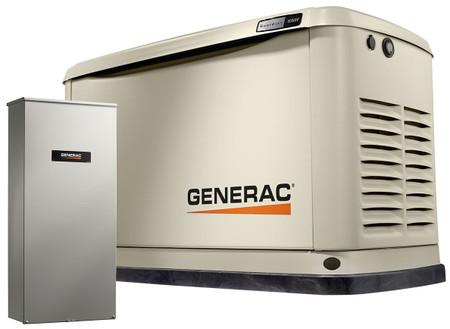 Guardian 10kW Home Backup Generator with 16-circuit Transfer Switch WiFi-Enabled - Model #7172