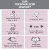 Handstamped jewelry information