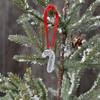 Handwriting ornament on tree