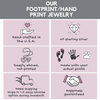 Footprind and Handprint jewelry information