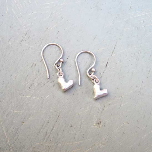 Chunky Heart Earrings