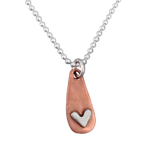 Subtle Devotion Heart Necklace