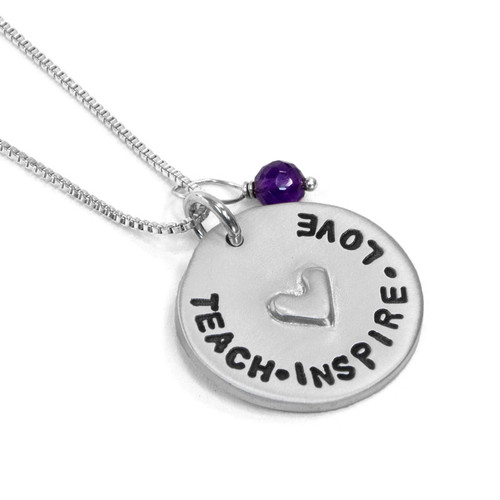 Love for Teacher Necklace