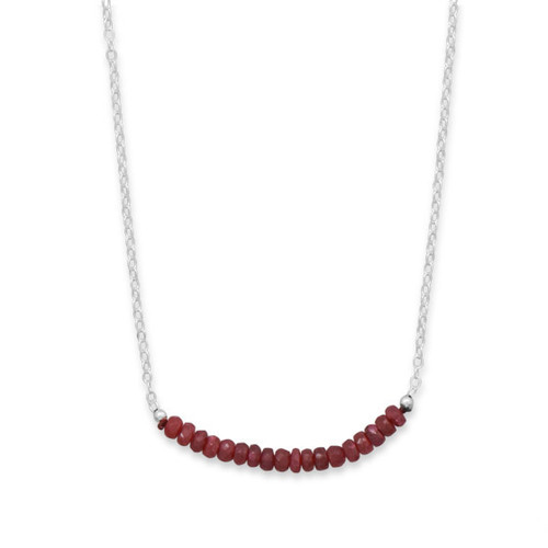 String of birthstones mommy necklace
