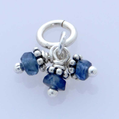Cluster of Faceted Sapphire Stones (Sept)