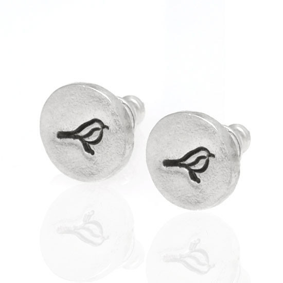 Birdie Post Earrings