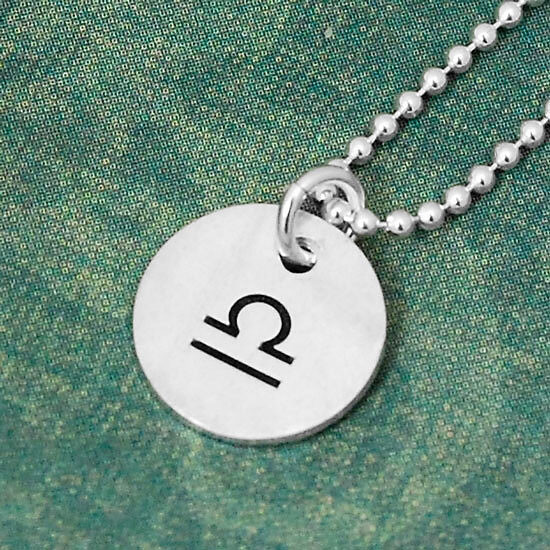 Silver Classic Zodiac Sign Charms, shown on green