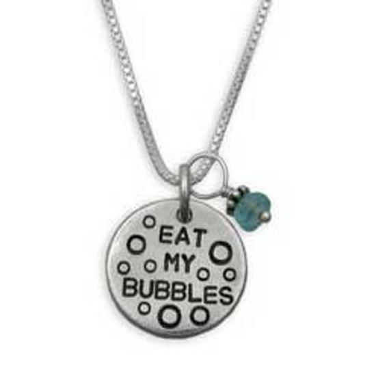 Eat My Bubbles Necklace