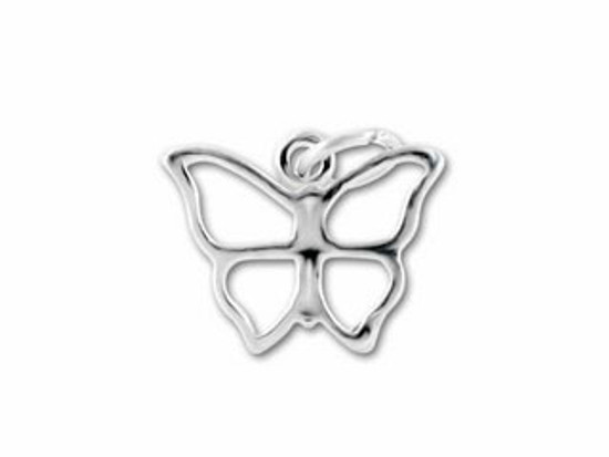 Large Butterfly Charm