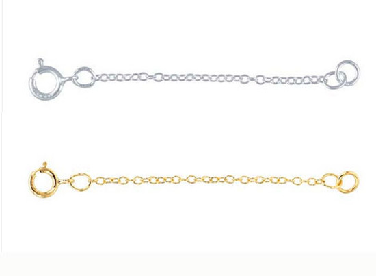 Chain extender silver and gold