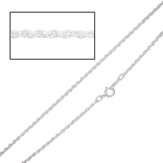Sterling Silver Dainty Cable Chain