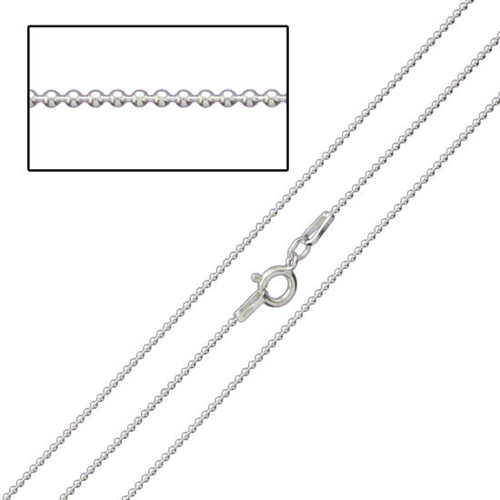Sterling Very Fine Ball Chain
