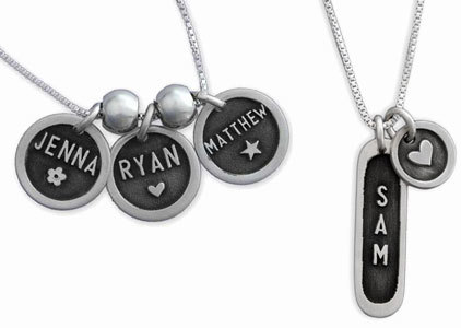 Etched Necklaces