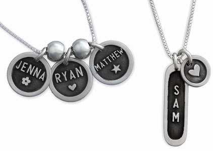Etched Necklaces