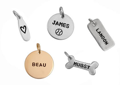 Name & Initial Charms