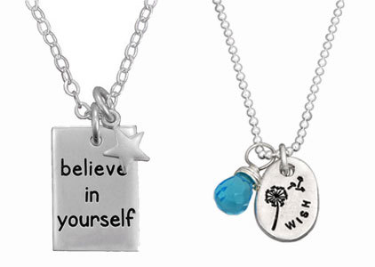 Inspirational & Quote Jewelry