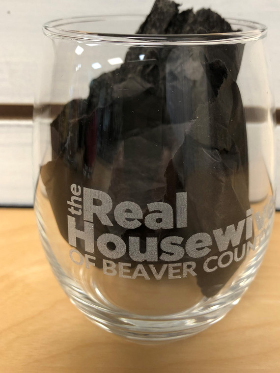 The Real Housewives of Beaver County Wine Glass