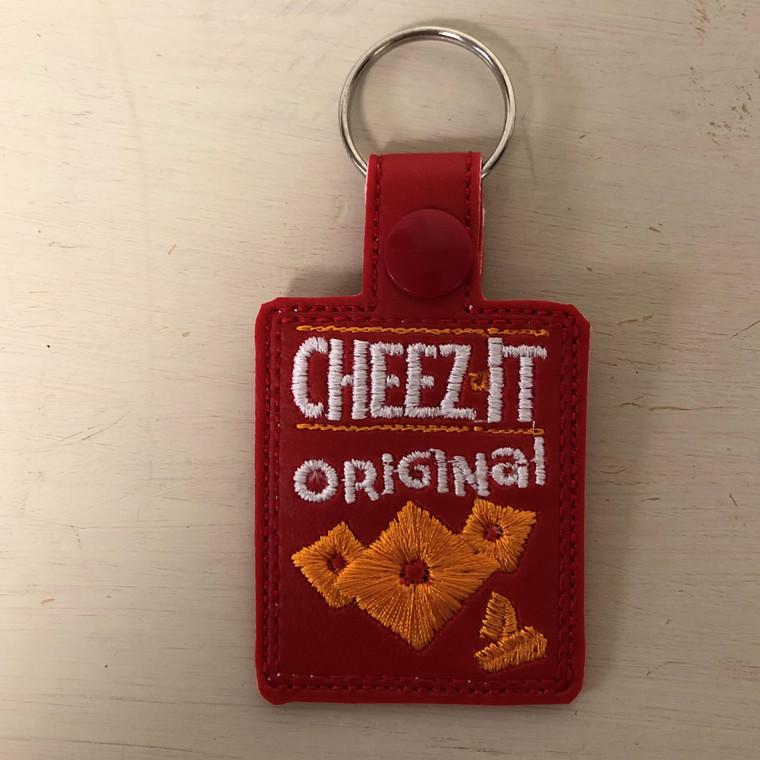 Cheez it Keychain