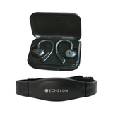 Echelon Wireless Earbuds & Advanced Chest Heart Monitor - $160 VALUE