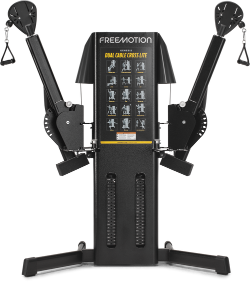 FreeMotion EXT Dual Cable Crossover Lite - Shown in Black