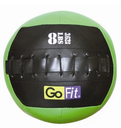 "GoFit 10"" Mini Crossfit-style Wall Ball Vinyl Medicine Ball- 8lbs"