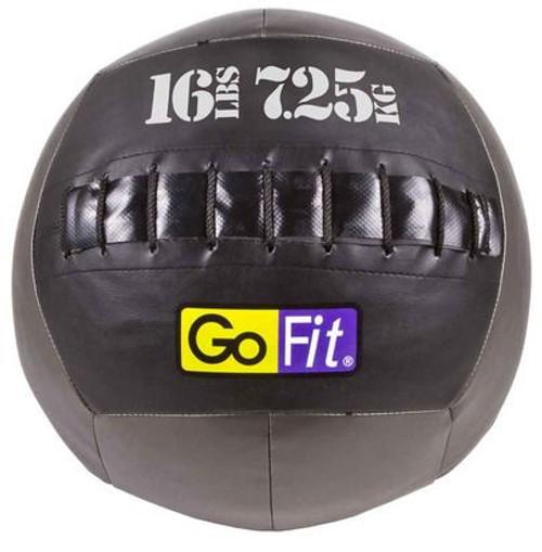 "GoFit 14"" Crossfit-style Wall Ball Vinyl Medicine Ball- 16lbs"