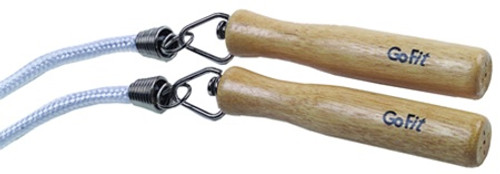 GoFit Classic Jump Rope with Wooden Handles