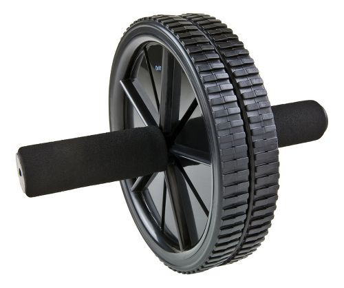 GoFit Dual Exercise Ab Wheel with Foam Padded Handles