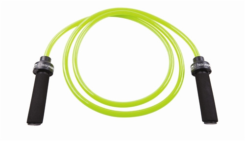 GoFit Heavy Jump Rope with Foam Handles - 1.5 lbs., 9 ft. Adjustable Length