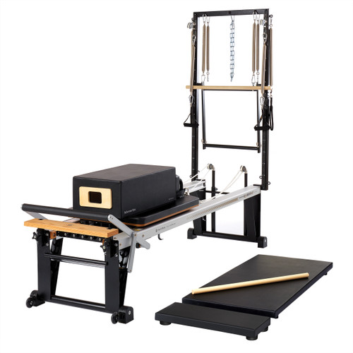 Merrithew Pilates REHAB V2 MAX PLUS Reformer with Deluxe Bundle (ST01085)