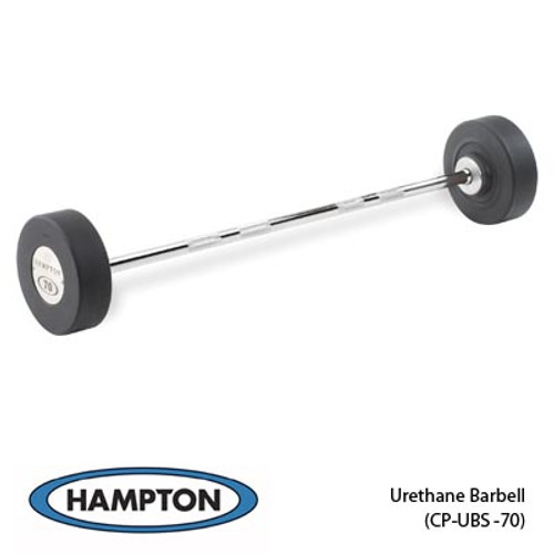 Hampton Urethane Straight Barbell Set