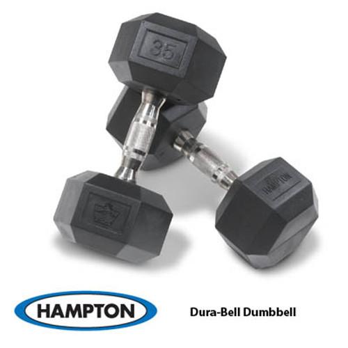 Hampton Urethane Dura-bell Dumbbells, 5-50 lb Dura-Bell Set