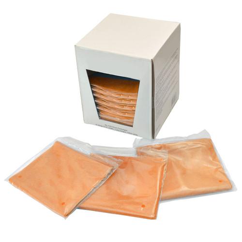 Spri Orange 5-Foot Flat Band 40-Piece Dispenser Pack (Medium Resistance)