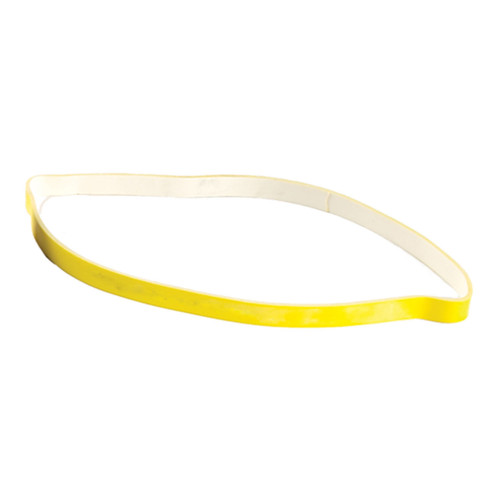 "Spri Yellow  9"" x 3/8"" - Beginner Xercise Band (Very Light Resistance)"