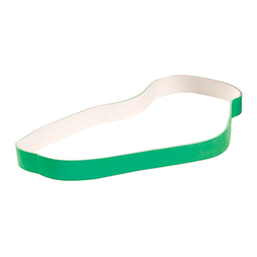 "Spri Green 9"" x 5/8"" - Average Xercise Band (Light Resistance)"