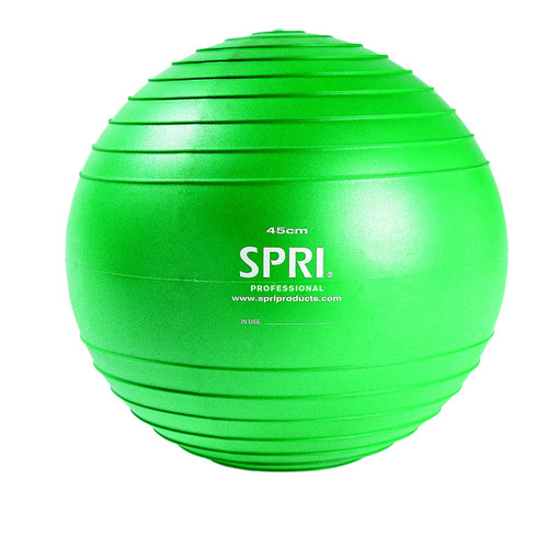 Spri Green Professional Xercise Ball - 45cm