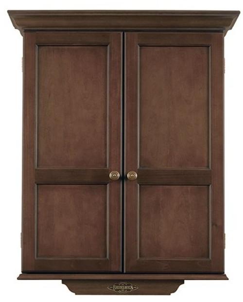 Brunswick Dart Board Cabinet - ESPRESSO
