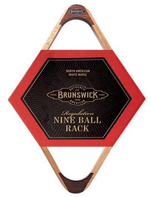 Brunswick 9-Ball Rack