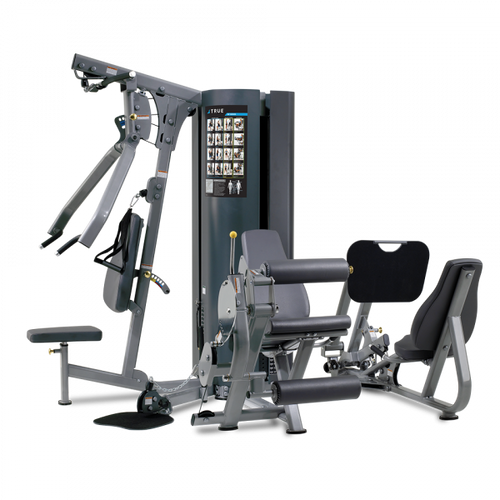 True Fitness MP2.5 - 2 Stack Multi Gym with Leg Press
