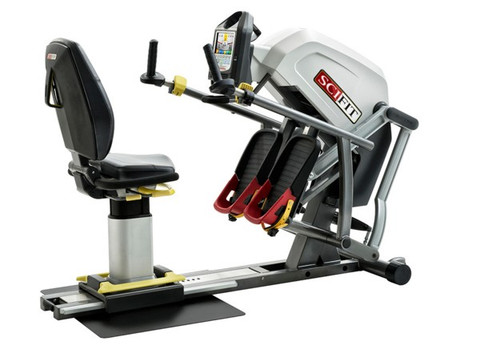 SciFit StepOne Recumbent Stepper - Shown with Premium Seat