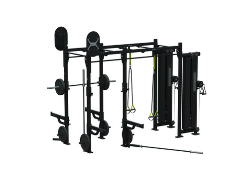 Torque 10 X 4 Foot Monkey Bar Cable Rack - X1 Package