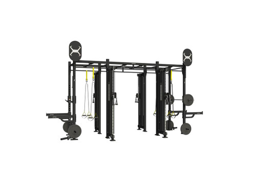 Torque 14 X 4 Foot Monkey Bar Cable Rack - X1 Package