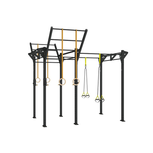 Torque 10 X 4 Foot Pull-Up Rack - X1 Package