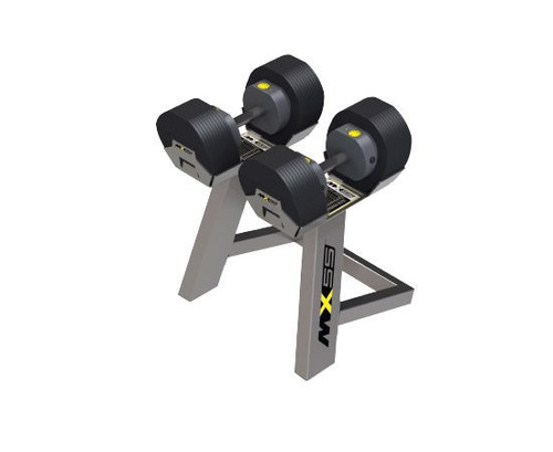 MX Select MX55 Adjustable Dumbbells with Stand