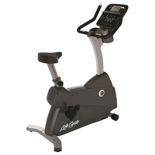 Life Fitness C3 Upright Bike with Track Connect Console
