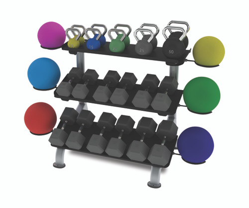 Weights, Balls and Rings Attachment  NOT INCLUDED.